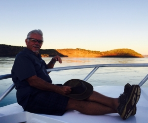 Happiness is Talbot bay sunset on a 4 night cruise @Horizontal Falls