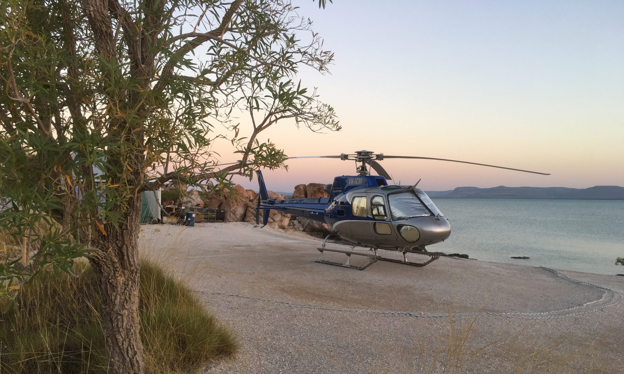 THe Kimberley darwin to Broome, Compass Helicopter Safari