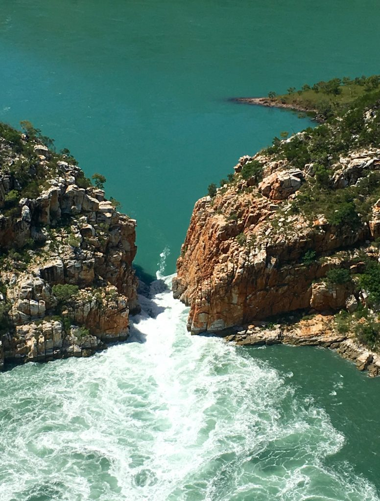 Horizontal Falls – Compass Helicopters